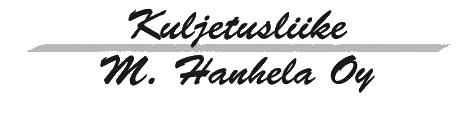 Kuljetusliike Hanhela